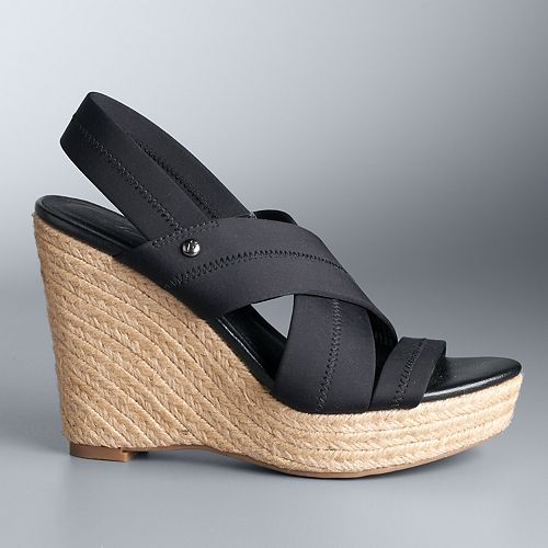 Simply Vera Vera Wang Winesap Women's Sandals