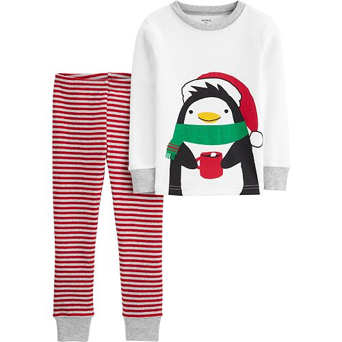 Toddler Boy Carter's 2-Piece Penguin Snug Fit Cotton PJs