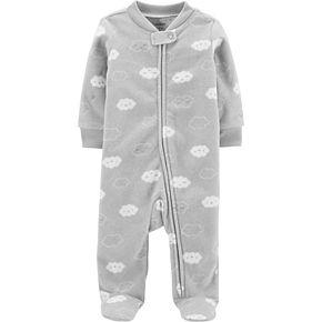 Baby Carter's Clouds Zip-Up Fleece Sleep & Play