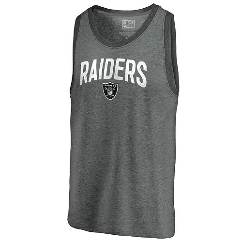 the latest 9a257 3c6c3 Men's Oakland Raiders Shattered Record Tank Top