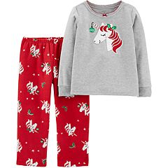 Disney Store Minnie Mouse Pajamas Baby Girls Size 6 9 12 18 24 Months Reindeer