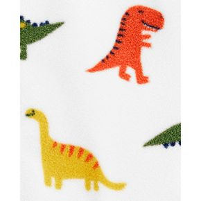 Baby Boy Carter's Dinosaurs Snap-Up Fleece Sleep & Play