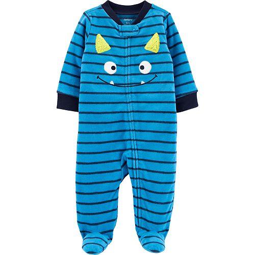 Baby Boy Carter's Monster Zip-Up Fleece Sleep & Play