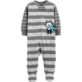 Baby Carter's Husky Zip-Up Fleece Sleep & Play