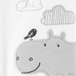 Baby Carter's Hippo Zip-Up Fleece Sleep & Play