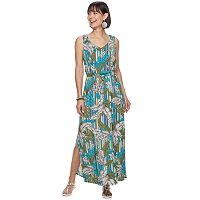 Deals on Apt. 9 Women's Challis Maxi Dress
