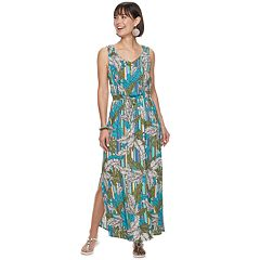 04b7232d Women's Apt. 9® Challis Maxi Dress