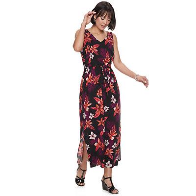 Women's Apt. 9® Challis Maxi Dress