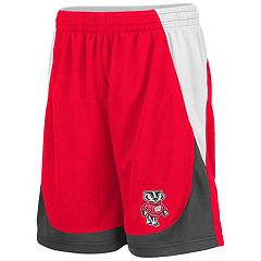 Boys 8-20 Wisconsin Badgers Fame Shorts