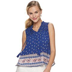 56dfce9280f6 Juniors Blue Rewind Tops & Tees - Tops, Clothing   Kohl's
