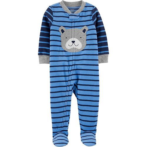 Toddler Boy Carter's 1-Piece Dog Fleece Footie PJs