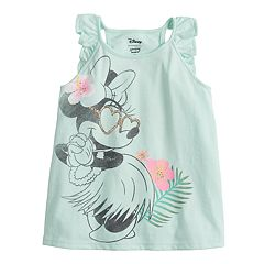 Disney's Minnie Mouse Toddler Girl Glittery Hula Graphic Tank Top by Jumping Beans®