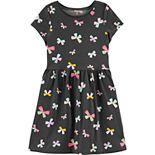 Girls 4-14 Carter's Butterfly Jersey Dress