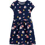 Girls 4-14 Carter's Floral Jersey Dress