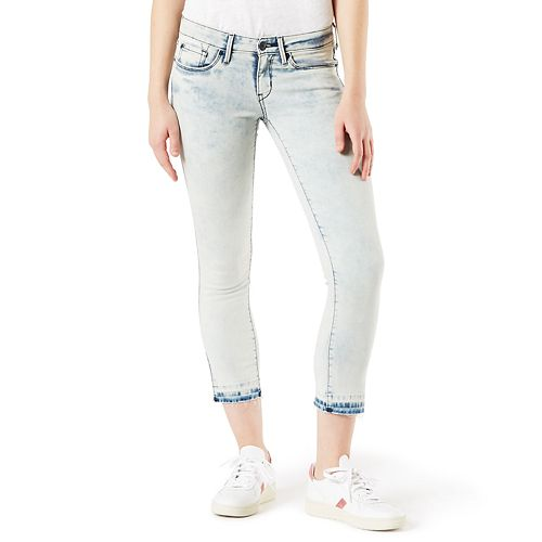 Juniors' DENIZEN from Levi's Low Rise Cropped Jeggings