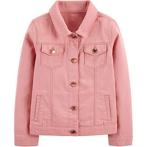Girls 4-12 Carter's Twill Jacket