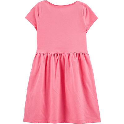 Girls 4-14 Carter's Glitter Birthday Girl Jersey Dress