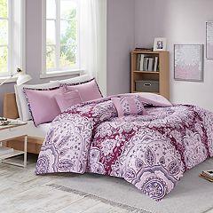 Intelligent Design Carissa Printed Comforter Set