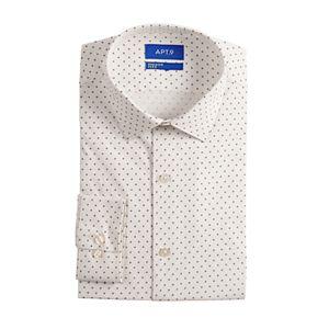 Men's Apt. 9® Extra-Slim Wrinkle-Resistant Stretch Dress Shirt