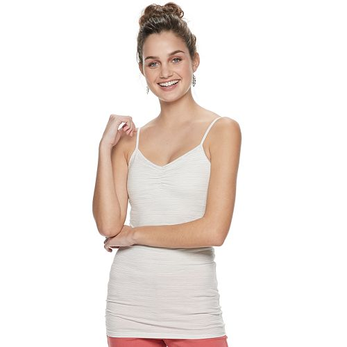 Juniors' SO® Favorite Molded Cup Tunic Cami