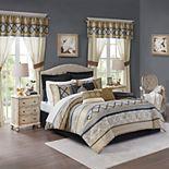 Madison Park Essentials Harriet 24-piece Complete Bedroom Bedding Set