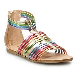Jumping Beans Rainbow Toddler Girls' Gladiator Sandals