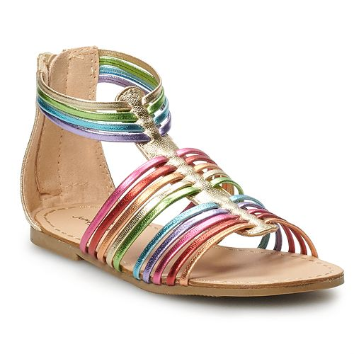 Jumping Beans Rainbow Toddler Girls' Gladiator Sandals
