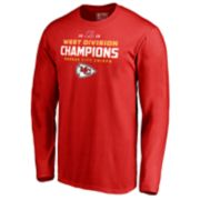 Men's Kansas City Chiefs Comeback Playoff West Division Champions Tee