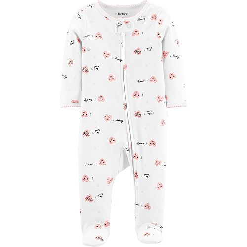 Baby Girl Carter's Heart Sleep & Play
