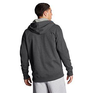 Men's Champion Applique Logo Fleece Full-Zip Hoodie