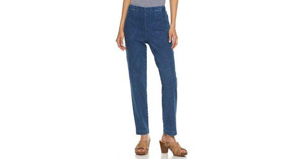 Petite Croft Amp Barrow 174 Pull On Jeans