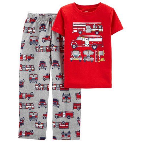 Boys 4-8 Carter's Top & Bottoms Pajama Set