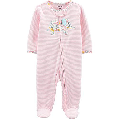 Baby Girl Carter's Elephant Sleep & Play