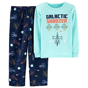 Boys 4-12 Carter's Top & Fleece Bottoms Pajamas