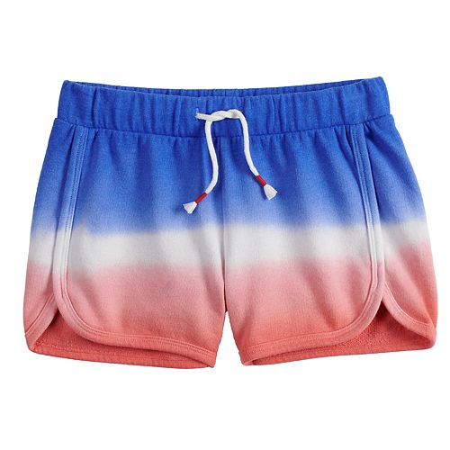 Girls 7-16 SO® French Terry Dolphin Hem Shorts