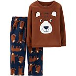 Toddler Boy Carter's 2-Piece Bear Fleece PJs