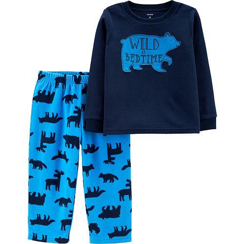 Toddler Boy Carter's 2-Piece Bear Fleece PJs