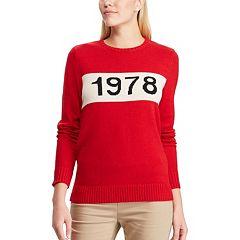 Women's Chaps '1978' Crewneck Sweater