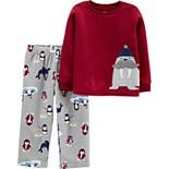 Toddler Boy Carter's 2-Piece Walrus Fleece PJs