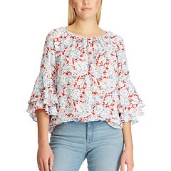 21ff160038 Womens Chaps Shirts & Blouses - Tops, Clothing | Kohl's