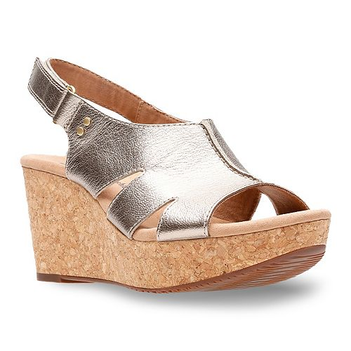 Clarks Annadel Bari Women's Platform Wedge Sandals