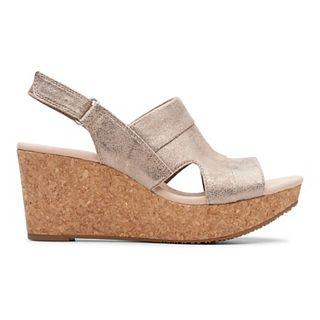 Platform Wedge Ivory Clarks Women's Annadel Sandals hCsQxBtrd