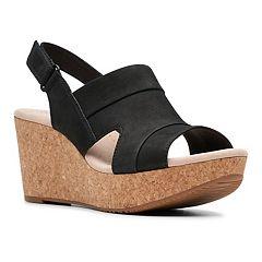 775cfa8559701 Clarks Annadel Ivory Women's Platform Wedge Sandals