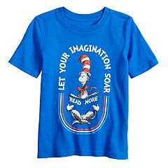 Boys 4-12 Jumping Beans® Dr. Seuss 'Let Your Imagination Soar' Graphic Tee