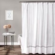 Lush Decor Hotel Collection Shower Curtain