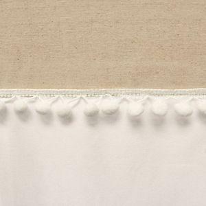 Lush Decor Adelyn Pom Pom Shower Curtain