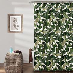 Lush Decor Tropical Paradise Shower Curtain