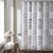 Lush Decor Monique Shower Curtain