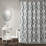 Lush Decor Connor Geo Shower Curtain