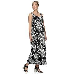 ee3524e6a3efb Maternity a:glow Knot-Front Maxi Dress